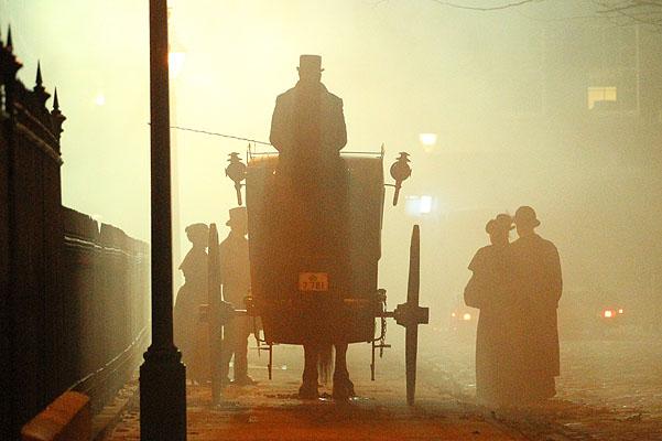 """Фото со съемок сериала """"Шерлок"""""""