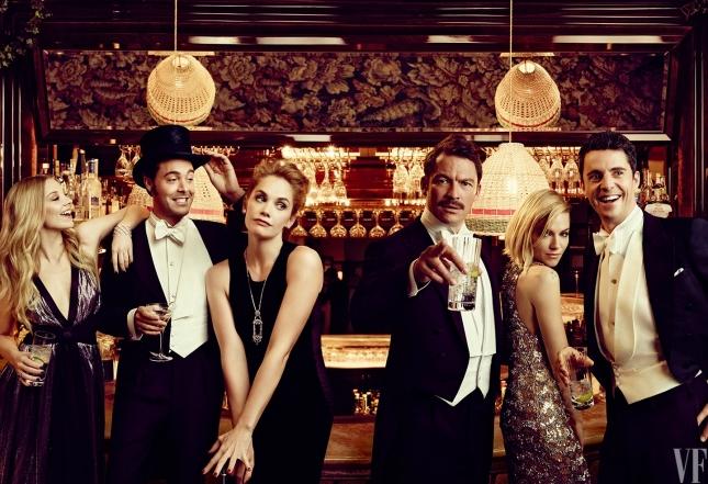 Звезды для Vanity Fair США, март 2015