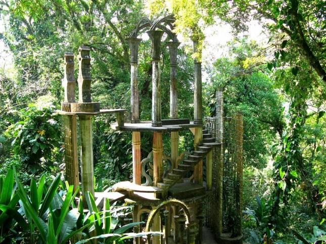 Сады Лас Позас в Мексике