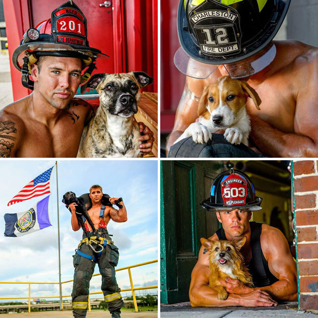2015 Charleston Firefighter Calendar