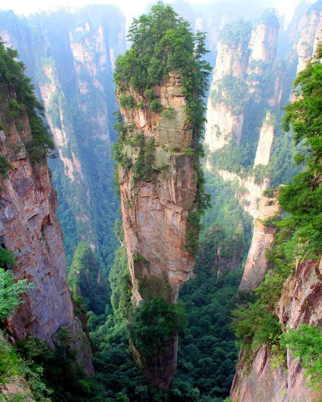 Горы Тяньцзи, Китай