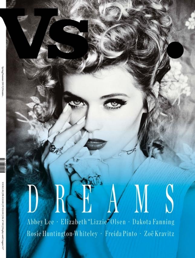 Эбби Ли Кершоу на обложке VS. Magazine