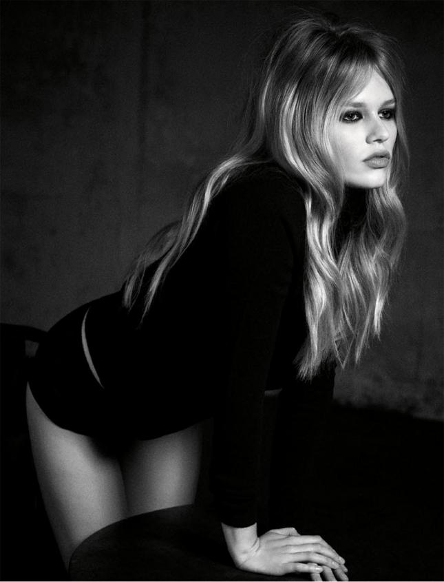 Анна Эверс для Vogue Германия, март 2015