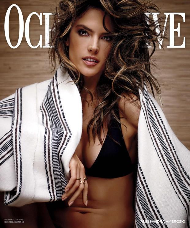 Алессандра Амбросио на обложке Ocean Drive Magazine