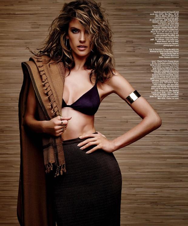 Алессандра Амбросио для Ocean Drive Magazine