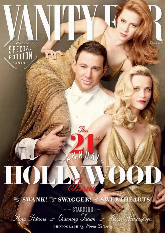 Звезды на обложке Vanity Fair США, март 2015