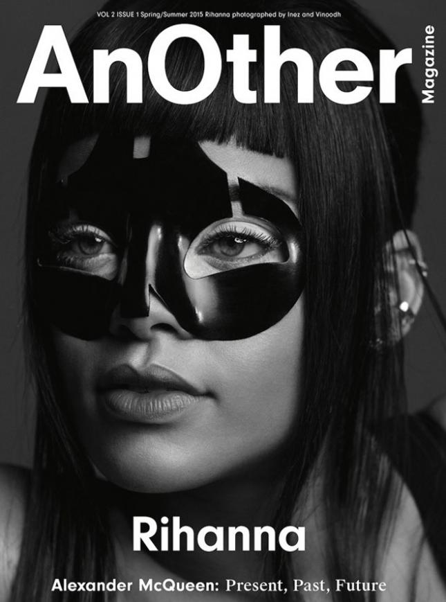 Рианна на обложке AnOther весна-лето 2015