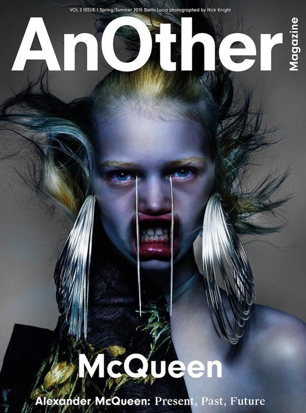 Стелла Лучиа на обложке AnOther весна-лето 2015