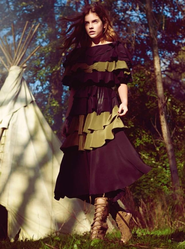 Барбара Палвин в фотосессии для Harper's Bazaar UK, март 2015