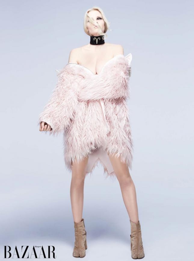 """Овен"" Лара Стоун для Harper's Bazaar"