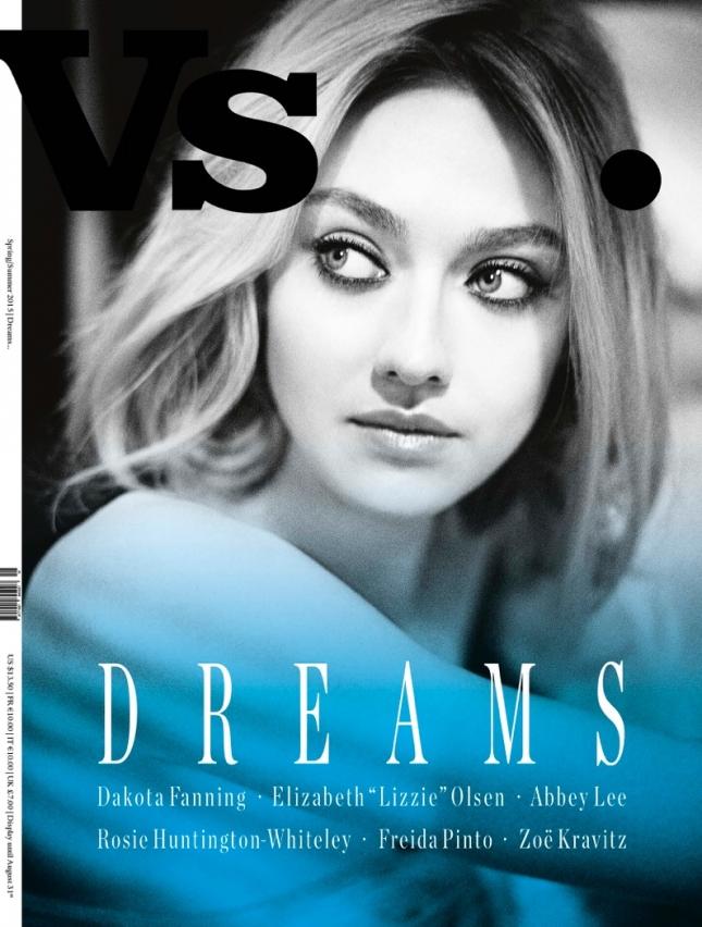 Дакота Фаннинг на обложке VS. Magazine