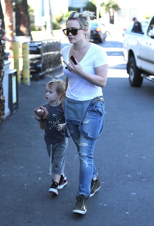 Хилари Дафф с сыном