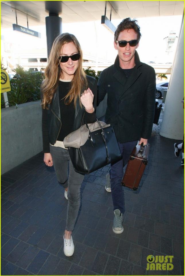 """Эдди Рэдмейн с чемоданчиком, где """"Оскар"""" лежит, вернулся в Англию"""