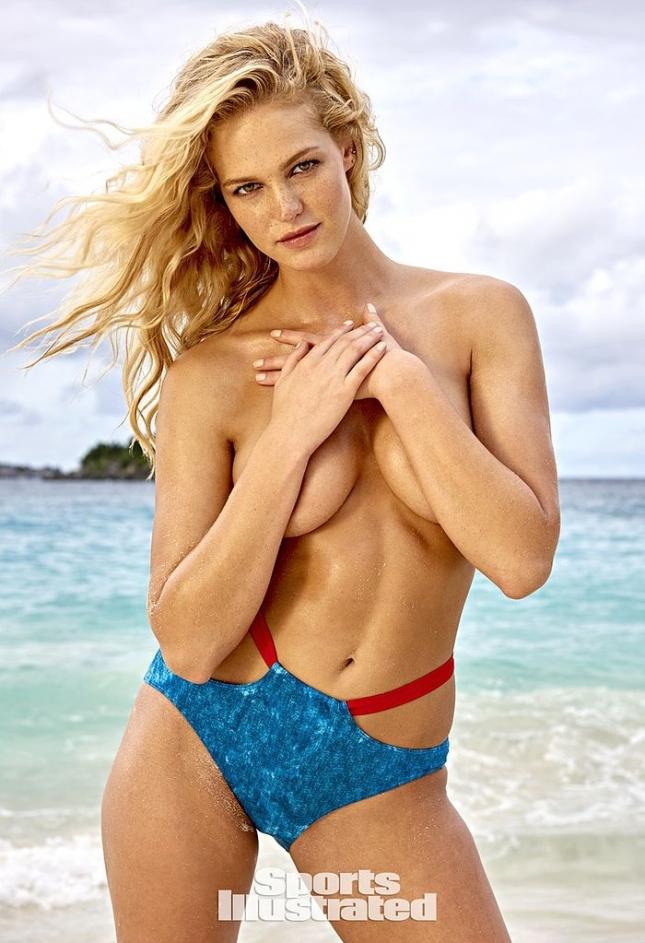 Эрин Хитертон для Swimsuit 2015