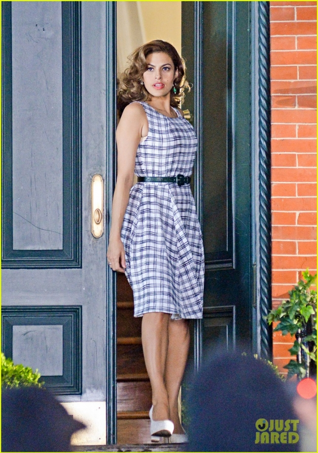 Eva Mendes On A photoshoot In New York City