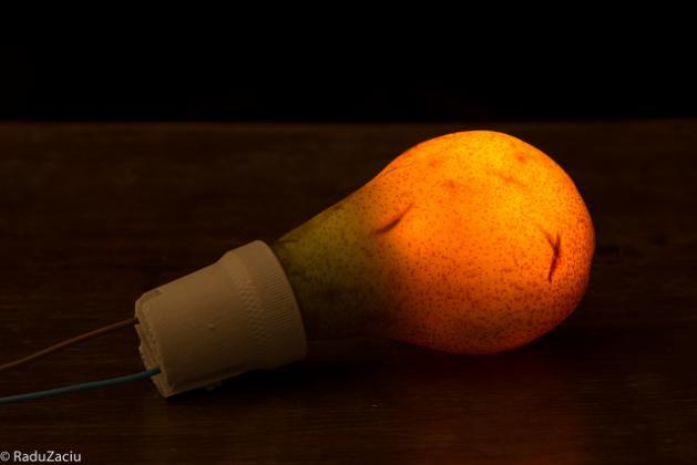Светящиеся овощи и фрукты — проект