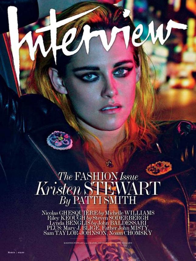Кристен Стюарт для Interview