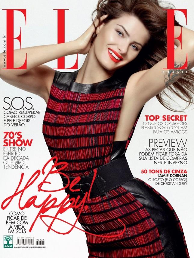 Изабели Фонтана на обложке Elle Бразилия