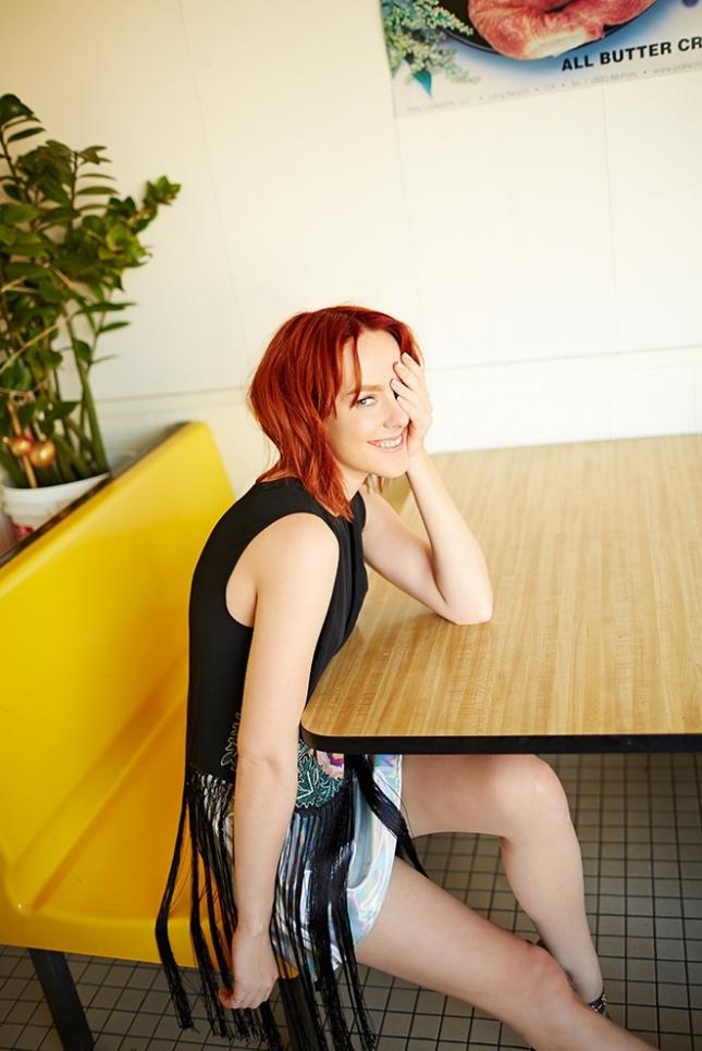 Джена Мэлоун  в фотосессии для Asos
