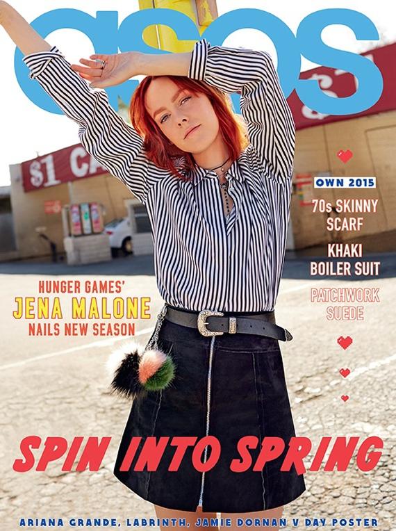 Джена Мэлоун на обложке Asos