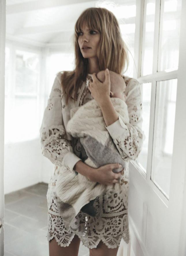 Джулия Стегнер для австралийского Vogue