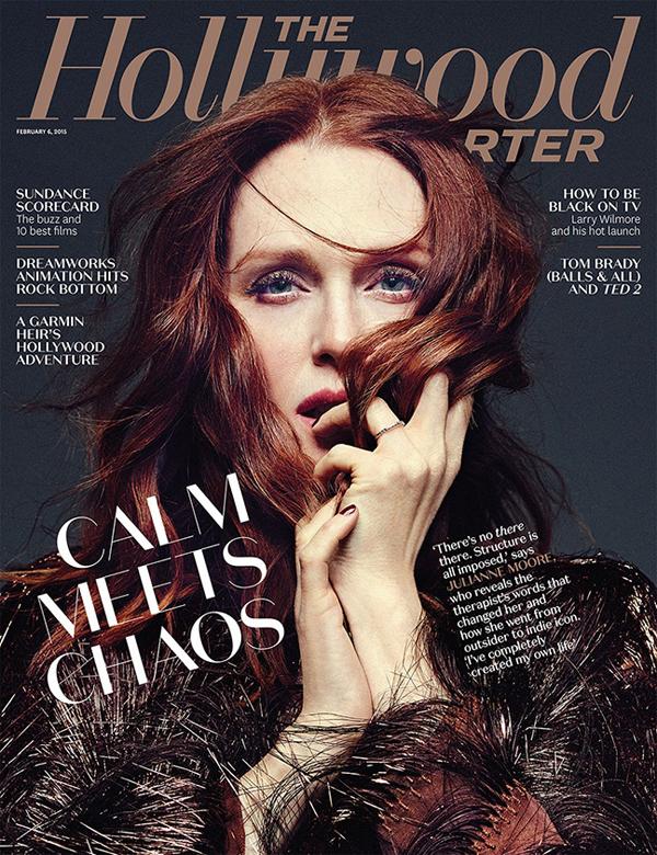 Джулианна Мур на обложке The Hollywood Reporter