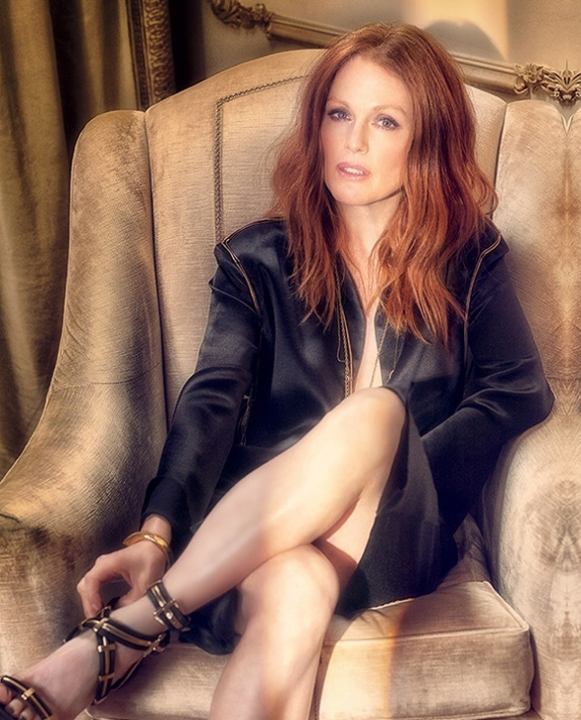 Джулианна Мур в фотосессии для LA Confidential magazine