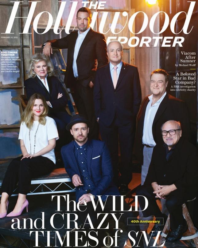 Звезды на обложке The Hollywood Reporter