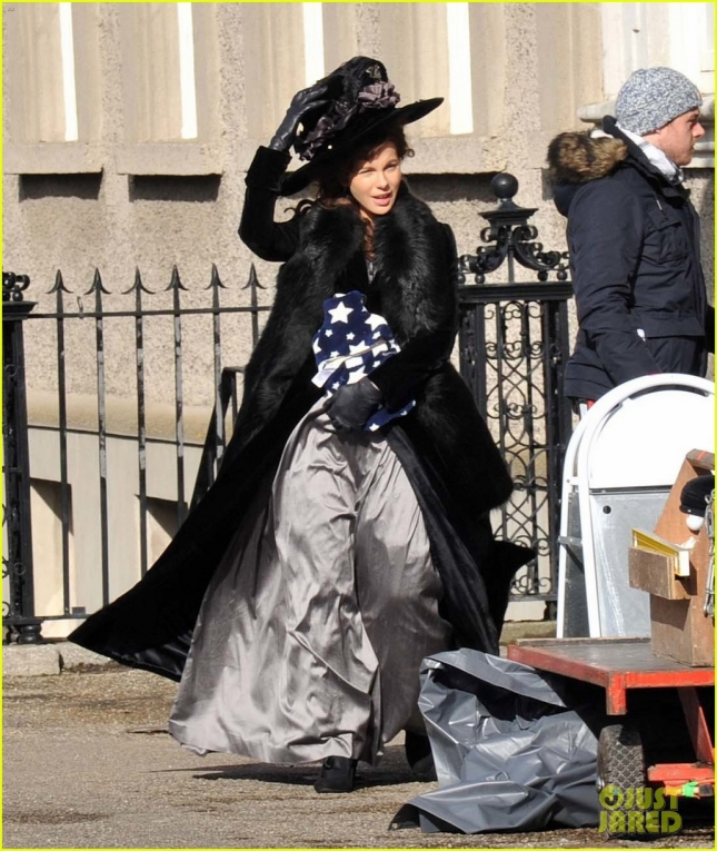 'Love and Friendship' film set