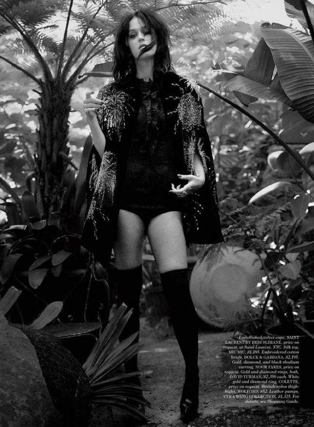 Кэти Перри для Elle США