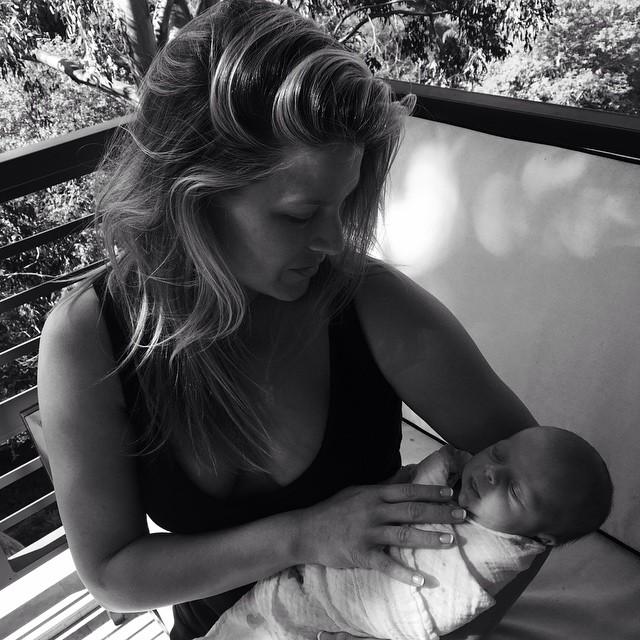 Эли Лартер с дочкой