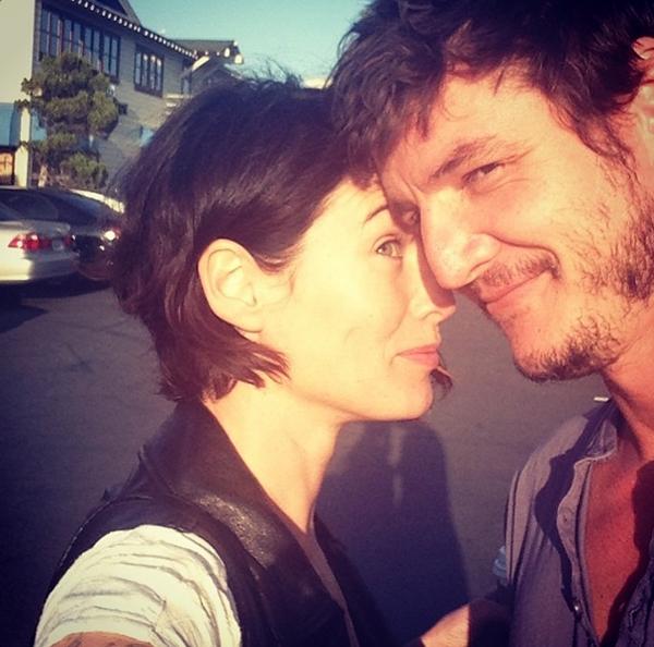Лена Хиди и Педро Паскаль - фото из Instagram