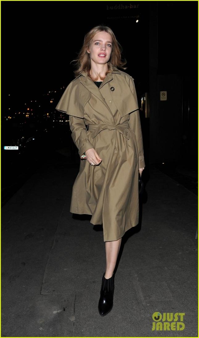 Наталья Водянова тоже не осталась в стороне и сходила на звёздную вечеринку Mert & Marcus House of Love