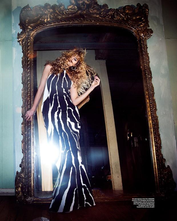 Марина Линчук для Harper's Bazaar Россия