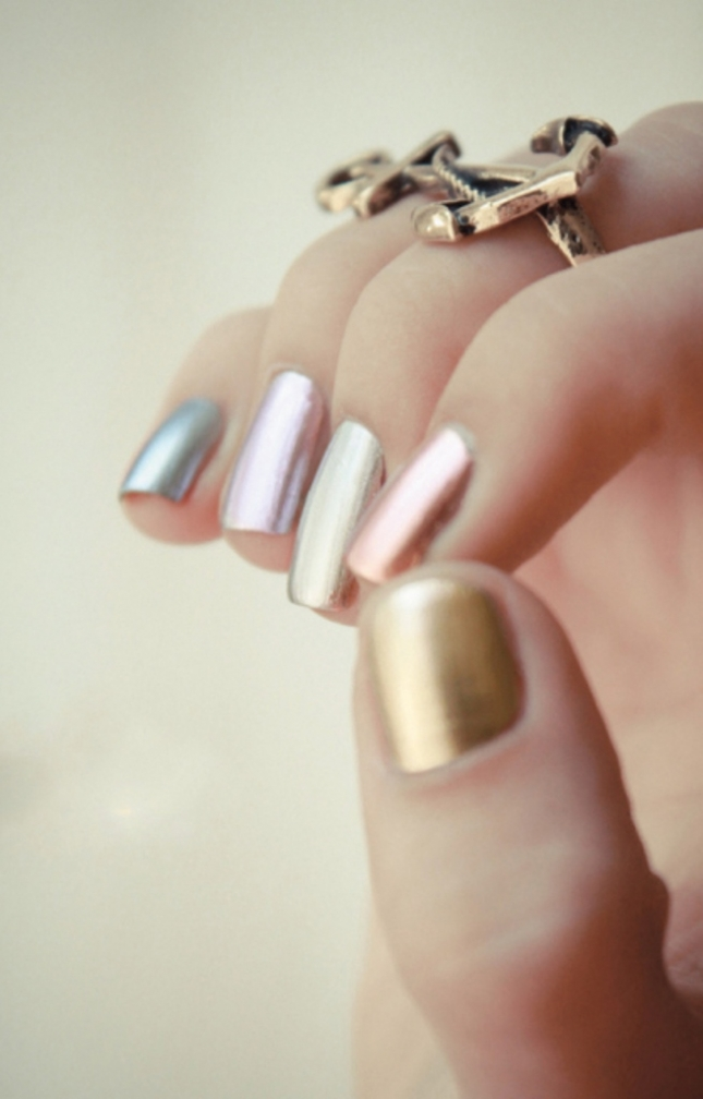 Metallic-Ombre