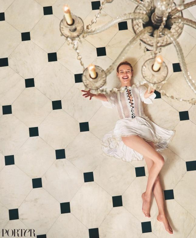 Наталья Водянова для Porter, весна 2015