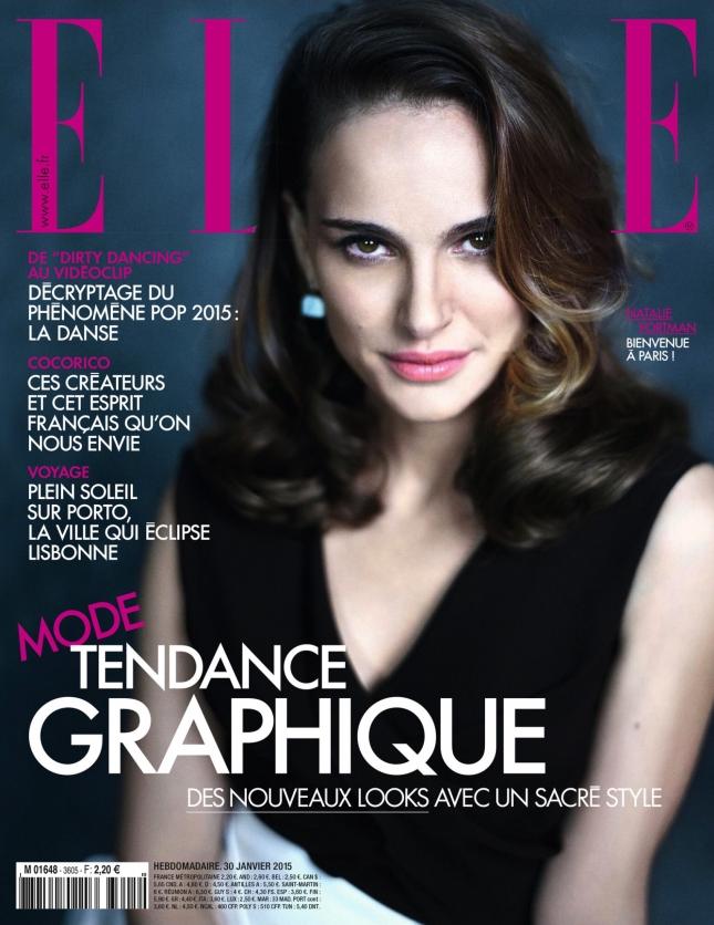 Натали Портман на обложке Elle Франция