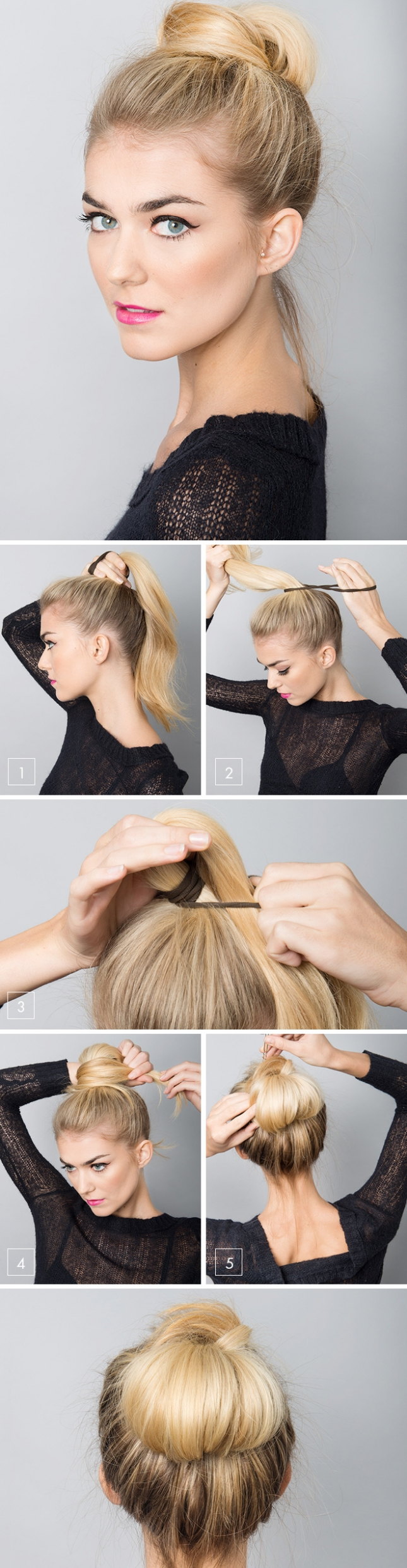Как сделать быструю прическу с длинными волосами