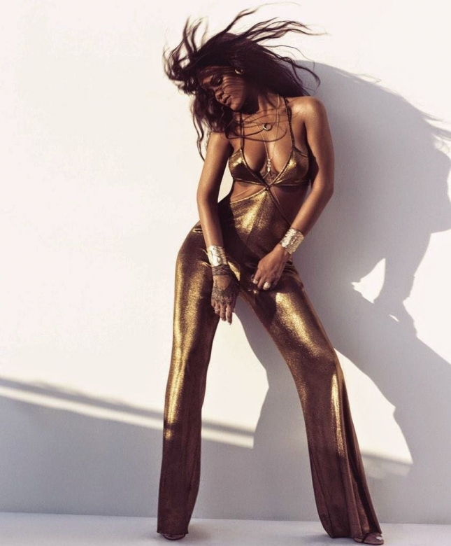 Рианна для Harper's Bazaar США, март 2015