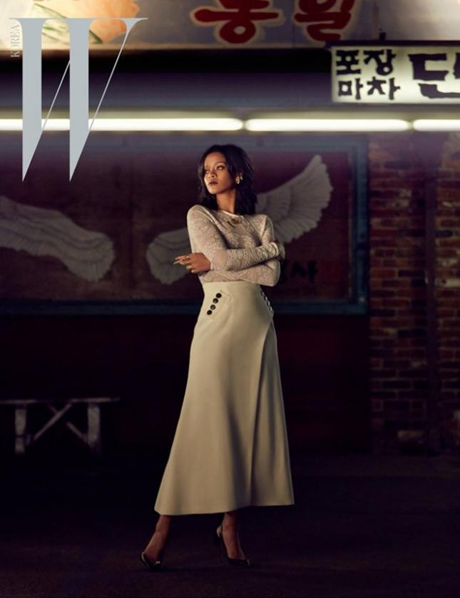 Рианна для W magazine Корея, март 2015