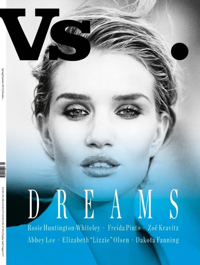 Роузи Хантингтон-Уайтли на обложке VS. Magazine