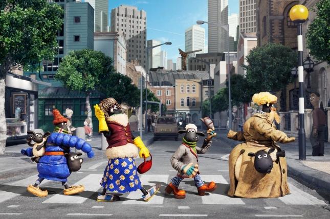 Кадр из фильма «Барашек Шон»