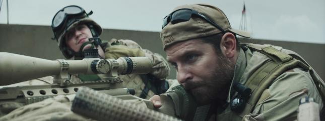 "Кадр из фильма ""Снайпер"""