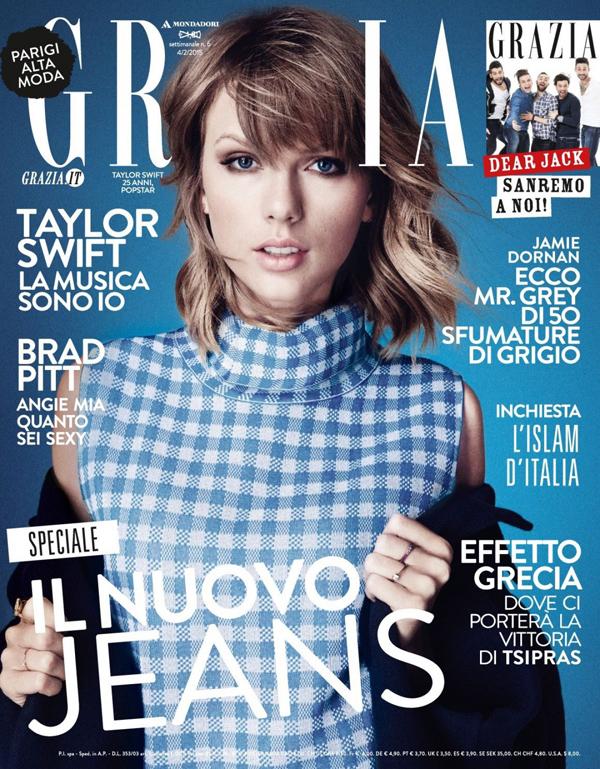Тейлор Свифт на обложке Grazia