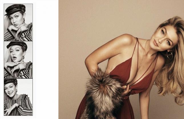 Джиджи Хадид в фотосессии для Vogue Испания