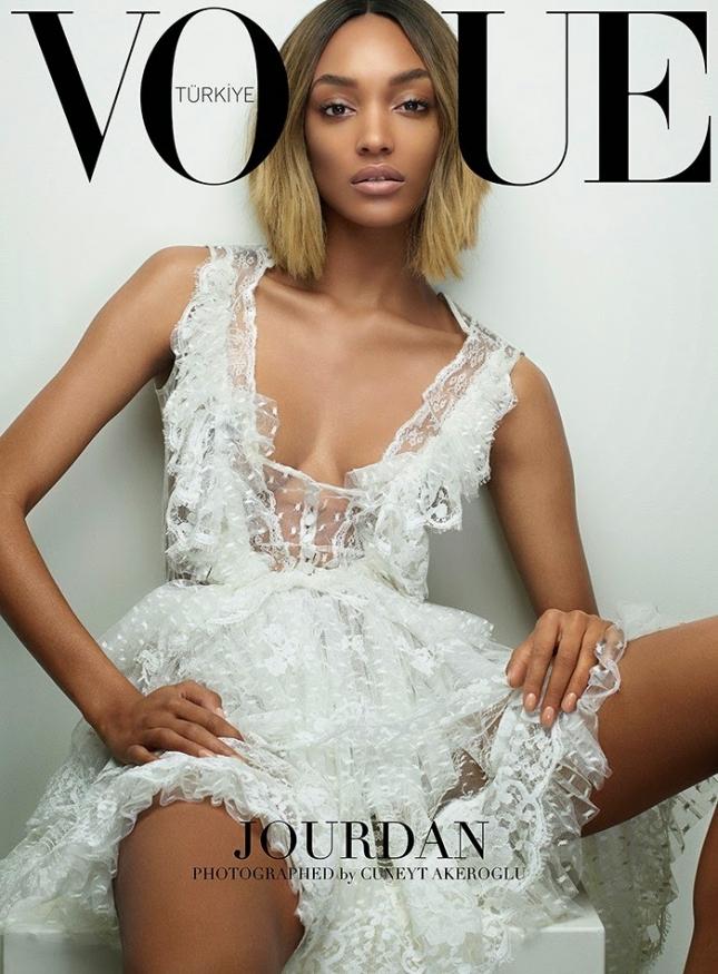 Джордан Данн на обложке Vogue Turkey, март 2015