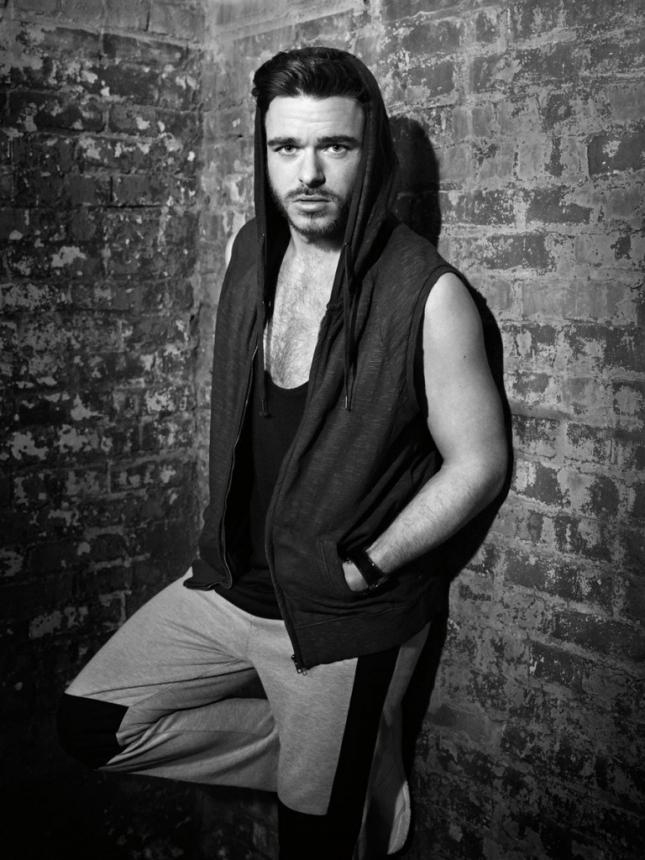 Ричард Мэдден для Flaunt magazine, апрель 2015