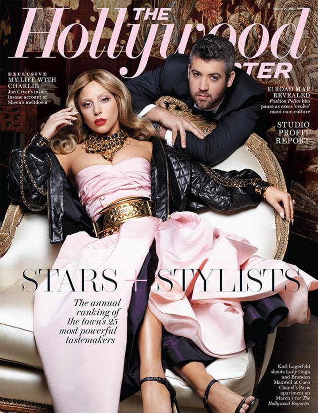Леди Гага на обложке специального выпуска The Hollywood Reporter 25 Most Powerful Stylists