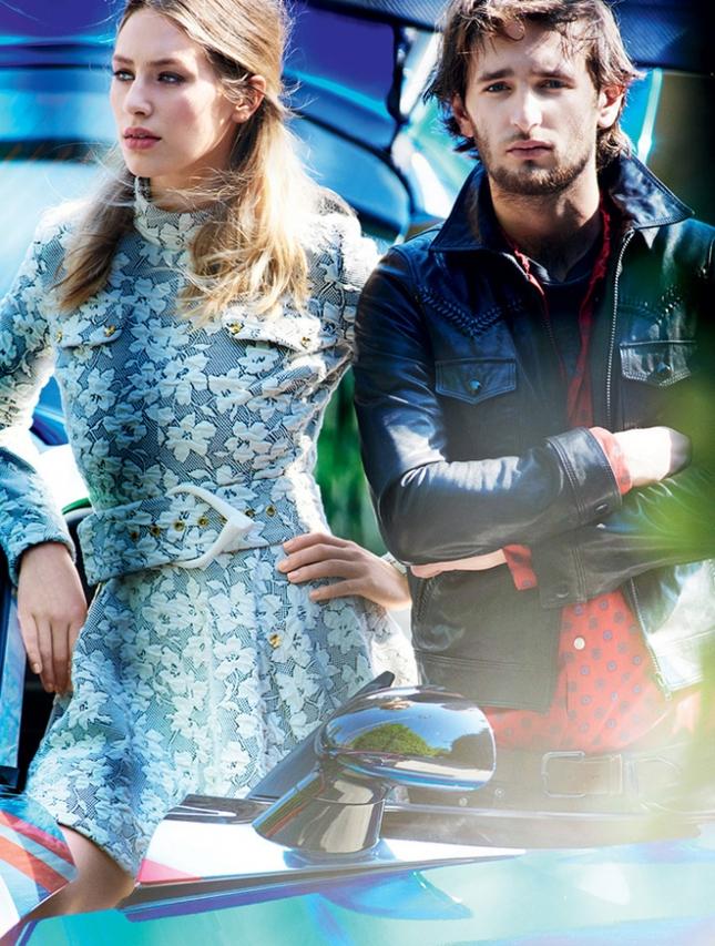 Дилан и Хоппер Пенн для Vogue США