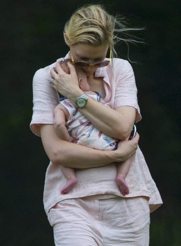 Кейт Бланшетт с дочкой